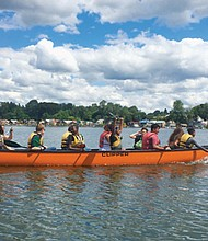 Free guided big canoe excursions along the lower Columbia River and its tributaries keep the public informed on efforts to restore and protect habitat, improve water quality and reduce pollution.