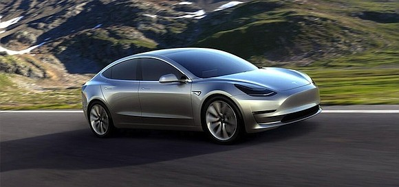 Tesla's first mass market electric car will start rolling off the production line this week.