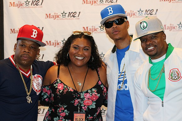 Majic 102.1 hosted their first Summer Block Party at the Cynthia Woods Mitchell Pavilion and it was a night full ...