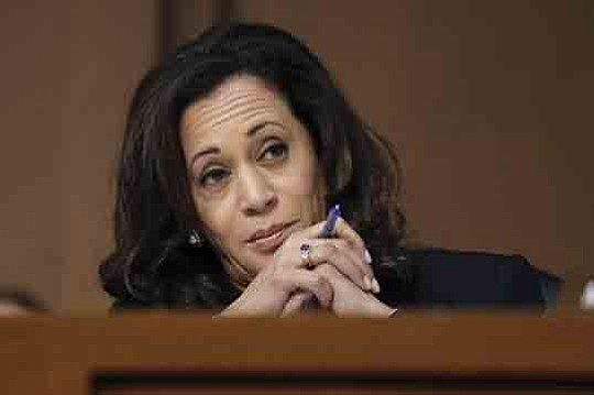 Sen. Kamala Harris (D-California) joined hundreds of health care workers, nurses, advocates, patients, and seniors at the Harbor-UCLA Medical Center ...