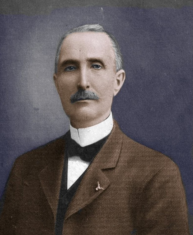 Michael Loughran was born in Tyrone, Ireland in 1844 before settling in Joliet where he left his mark on the downtown landscape with a building at 1 E. Cass St.