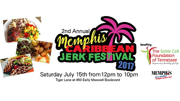 The second annual Memphis Caribbean Jerk Festival – benefiting the Sickle Cell Foundation of Tennessee – will take place from ...