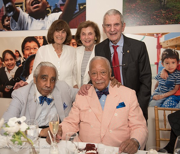 June 15 the Association to Benefit Children in celebration of Mayor David N. Dinkins' 90th birthday held a special birthday ...
