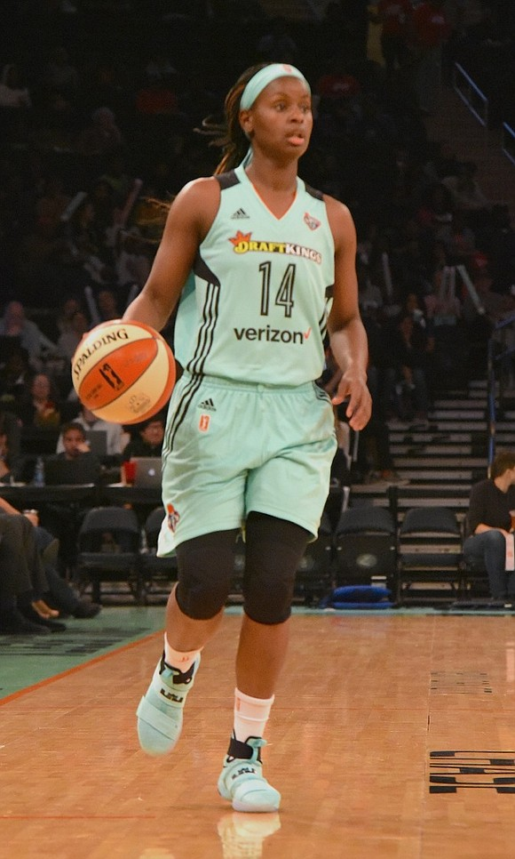 The New York Liberty are currently on a West Coast road trip and focused on breaking a three-game losing streak.