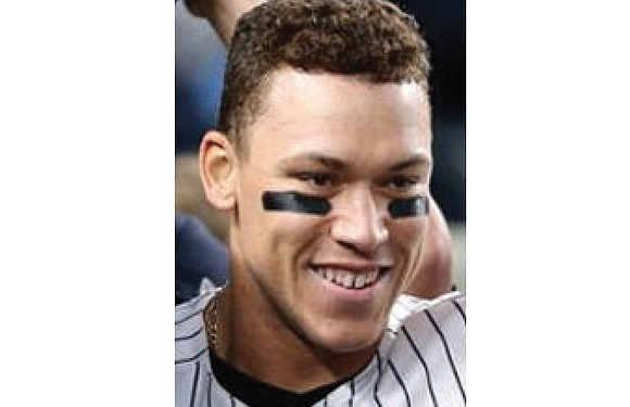 Aaron Judge wears No. 99 on his New York Yankees jersey, but ranks No. 1 in other important categories.