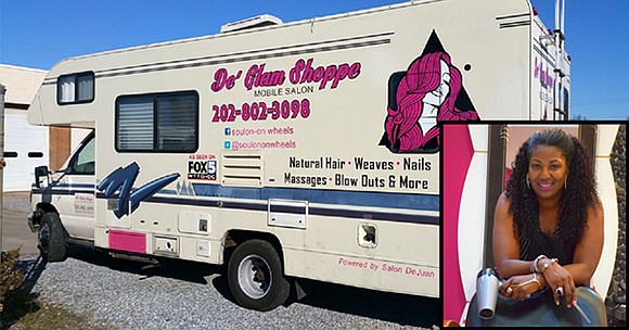 Salon DeJuan has announced the opening of its 2nd De Glam Shoppe Mobile Hair Salon in the Washington, DC Metropolitan ...