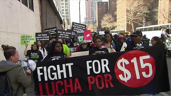 Higher minimum wages go into effect across the country this week, boosting many low-wage workers' paychecks — and the blood ...