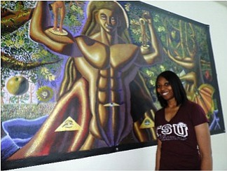 Texas Southern University's long and storied history of art lives on in a new set of student-produced murals recently hung ...