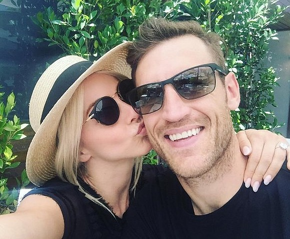 "There may be some sore feet after this weekend. Former ""Dancing With the Stars"" pro-turned-judge Julianne Hough tied the knot ..."