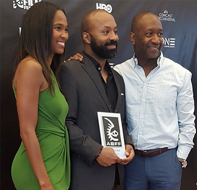 Devin Haqq, an independent filmmaker, won the 2017 Grand Jury Award for Best Narrative Feature Film at the American Black ...