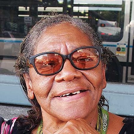 I think people coming together to help each other would make America great. Not pulling apart, like we are now. — Ms. D. Boyettie, Bus Driver, Roxbury