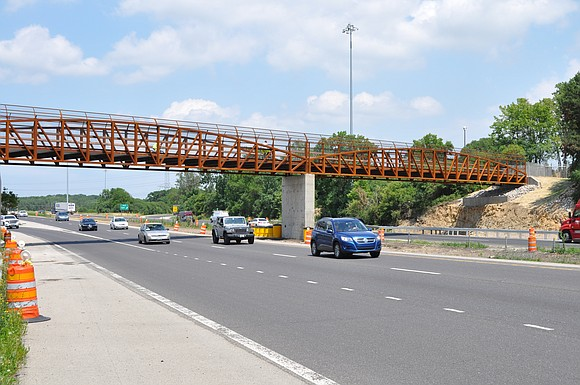 The new Old Plank Road Trail (OPRT) Bridge over Interstate 80 in New Lenox is up and running, and the ...
