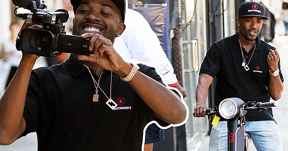 Electronic biking has taken off on a whole new level, thanks to Ray J's new E-Bike company, Raytroniks, which produces ...
