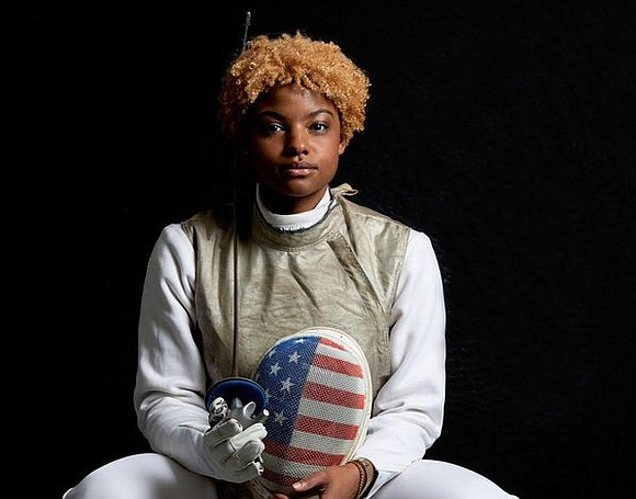 At the age of 9, Nzingha Prescod's fencing career began when her mother took her to the Peter Westbrook Foundation.