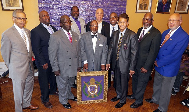 Harlem's Kappa Omicron Chapter of the Omega Psi Phi Fraternity