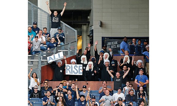 Aaron Judge's prodigious home run swing and his loyal fans were the big head-turners at the Major League Baseball's Home ...