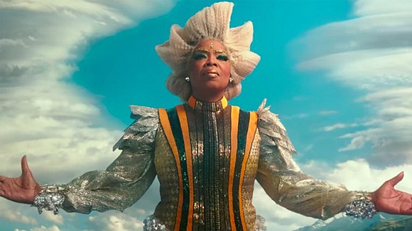 """During Disney's D23 Expo on Saturday, Disney unveiled the first look at Ava DuVernay's """"A Wrinkle in Time,"""" based on ..."""