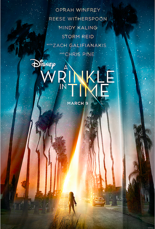 "Take a look at the teaser trailer and teaser poster for Disney's ""A Wrinkle in Time"" which just debuted moments ..."