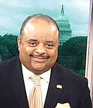 Roland Martin (center) has launched an initiative for HCBU's. Several weeks into the initiative, Martin has been urging viewers and followers on social media to get involved by donating to an HBCU of their choice.