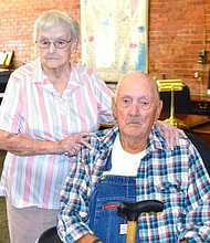 "Twins and Butts County natives Virginia Moss and Victor ""Buster"" Brown recently celebrated their 91st birthdays."