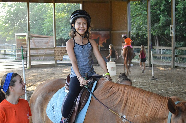 Ready, Set, Ride is a non-profit therapeutic horse riding center based in Plainfield.