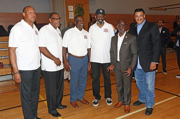 On Father's Day, several Queens families were treated to a gift from the organization Fathers and Men of Professional Basketball ...