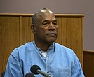 O.J. Simpson, 70, appears in court for his parole hearing on July 20, 2017.