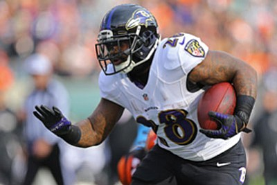 The Baltimore Ravens have been trying to find a way to repeat the success they enjoyed running the ball in ...