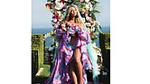 "Beyoncé poses with her babies, Rumi and Sir Carter, in an Instagram post on Friday, July 14. The photo received more than 6.5 million ""likes"" within nine hours of its posting."