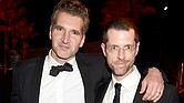 Showrunners David Benioff (L) and D. B. Weiss attend HBO's Official 2015 Emmy After Party at The Plaza at the Pacific Design Center on September 20, 2015 in Los Angeles, California. Jeff Kravitz/FilmMagic