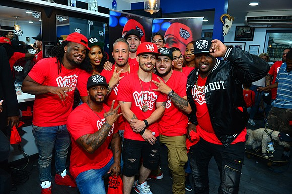 "MTV hosted another ""Wild 'N Out: LIVE from the Barbershop"" pop-up in New York on Sunday at Well Connected Barbershop ..."