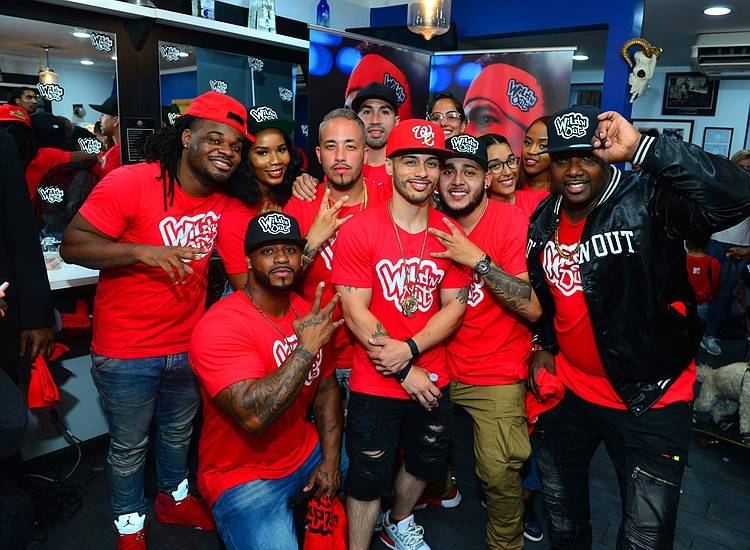 New York was 'On Ten' at 'Wild 'N Out: LIVE from the