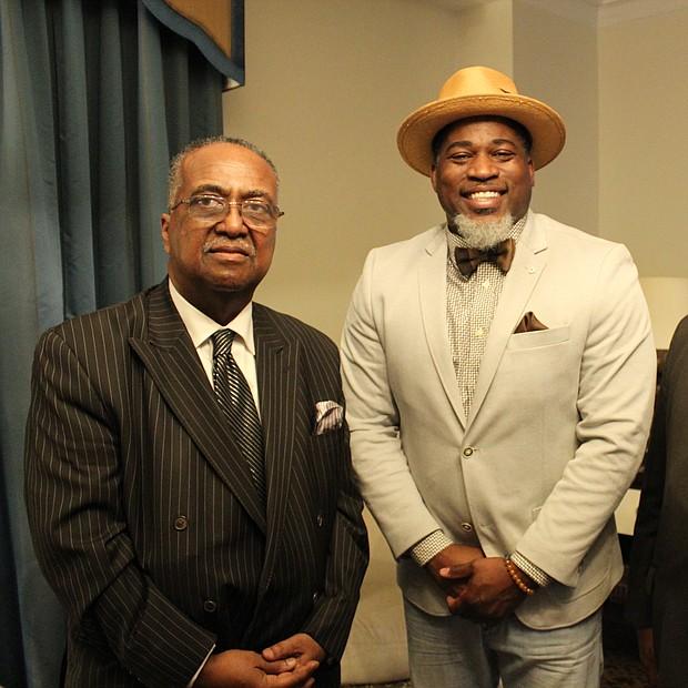 SCLC President Dr. Charles Steele Jr., rapper/activist David Banner; and SCLC Chairman Dr. Bernard Lafayette.