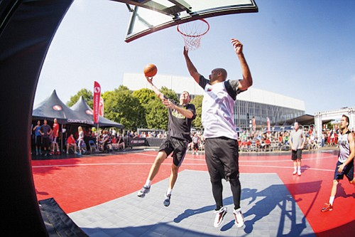 The fourth annual Rip City 3 on 3 Basketball Tournament, a premier outdoor basketball event for the public, sponsored by ...
