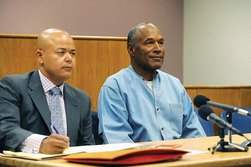 O.J. Simpson was granted parole Thursday after more than eight years in prison for a Las Vegas hotel heist, successfully ...