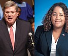 Mayor Jim Strickland, Rep. Raumesh Akbari