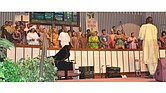 The Mt. Vernon Baptist Church-Westwood Choir. 