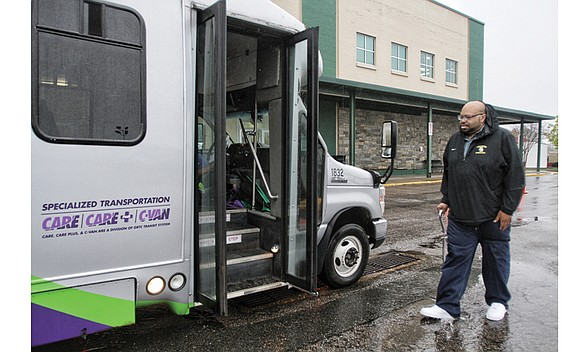 Roderyck Bullock is gaining a new transportation option. Beginning Tuesday, Aug. 1, the Richmonder will be able to use a ...