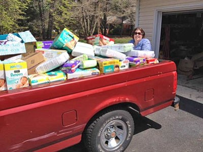 In 2014, while looking for a place to donate diapers that her children had out-grown, Jackie Weisman discovered the diaper ...