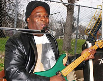 "Terry ""Big T"" Williams & Vann Durham, Blues guitarist and vocalist will perform on Sunday, July 30, 2017 at the Union Square Festival at Union Square Park located at 31 S. Gilmore Street from 5 p.m. to 7 p.m. Bring your blankets and folding chairs and enjoy live music, neighbors and popcorn."