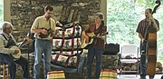 The Mayo Family Bluegrass Band will perform at the Druid Hill Park Farmer's Market at 3100 Swann Drive in Druid Hill Park on Wednesday, August 2, 2017. The Farmer's Market begins at 3 p.m. and is open until 7 p.m.
