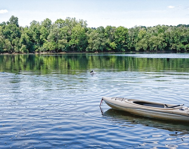 Tranquility at Huguenot Flatwater Park