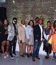 Honorees in attendance included: Swivel founders Jihan Thompson and Jennifer Lambert; The Shade Room founder Angie Nwandu; artist Laolu Senbanjo, influencer Tanyka Renee Henry; actress Logan Browning (star of the Netflix hit series, Dear White People); and celeb stylist Ade Samuel.