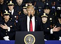 "President Donald Trump encouraged police officers to be ""rough"" with people they arrest in a speech last week on dismantling the criminal gang known as MS-13 that was made before law enforcement in Long Island, N.Y."