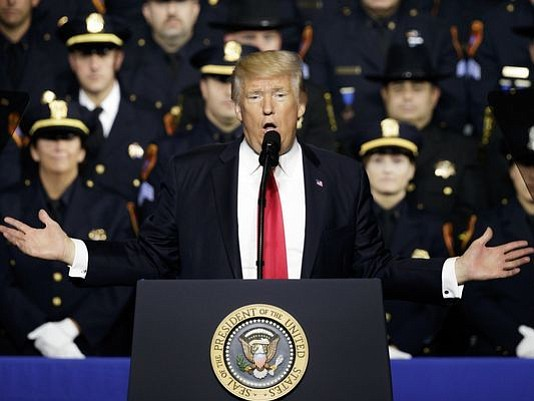 Communities and police departments in Oregon and across the nation are responding to President Trump's comments to police on Friday ...