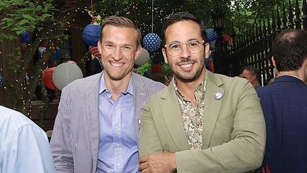 Peter van Kelkeren and David Guerra.