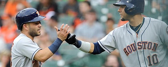 Although the Astros own the best road record in the Major Leagues at 38-15 and are averaging 6.89 runs per ...