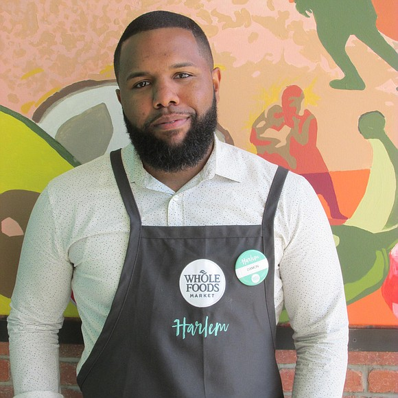 As buzz about Whole Foods Market's Harlem location continues, the man who's keeping the store running is getting the opportunity ...