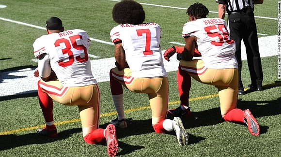 The response and backlash to the NFL owners' new flag mandate has been typical and divided along the same lines ...