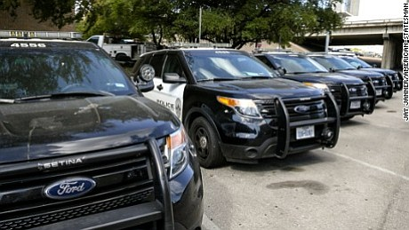 Authorities in Massachusetts say a police officer was exposed to carbon monoxide gas while driving a Ford SUV police vehicle, ...